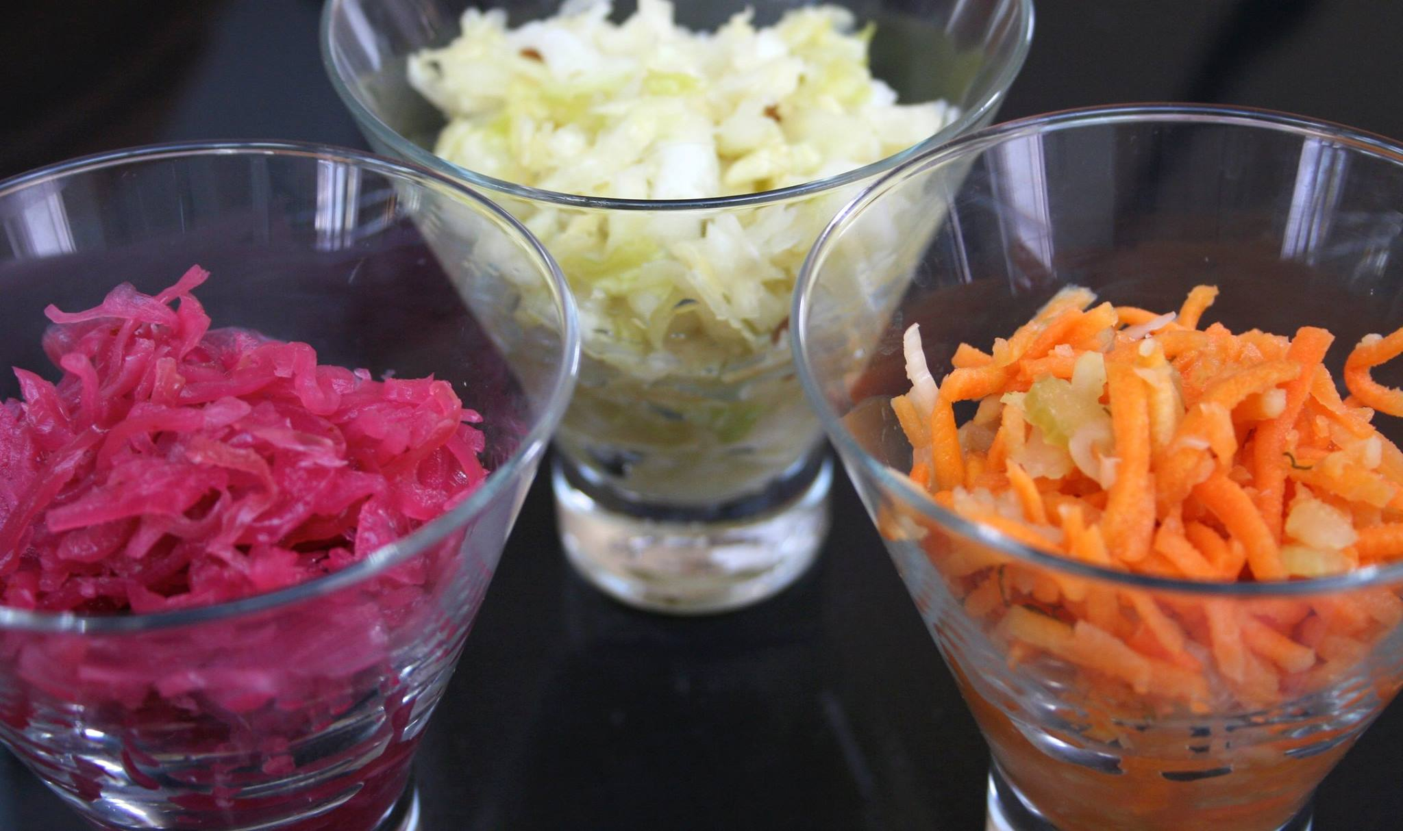 Kimchi, Sauerkraut with Caraway, Carrot & Ginger Pickle